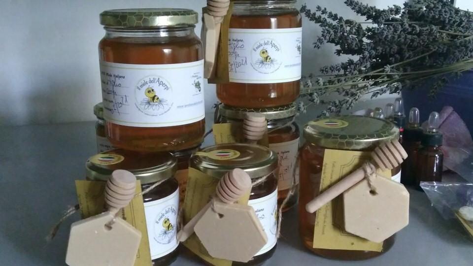 miele di acacia e di tiglio in confezione regalo