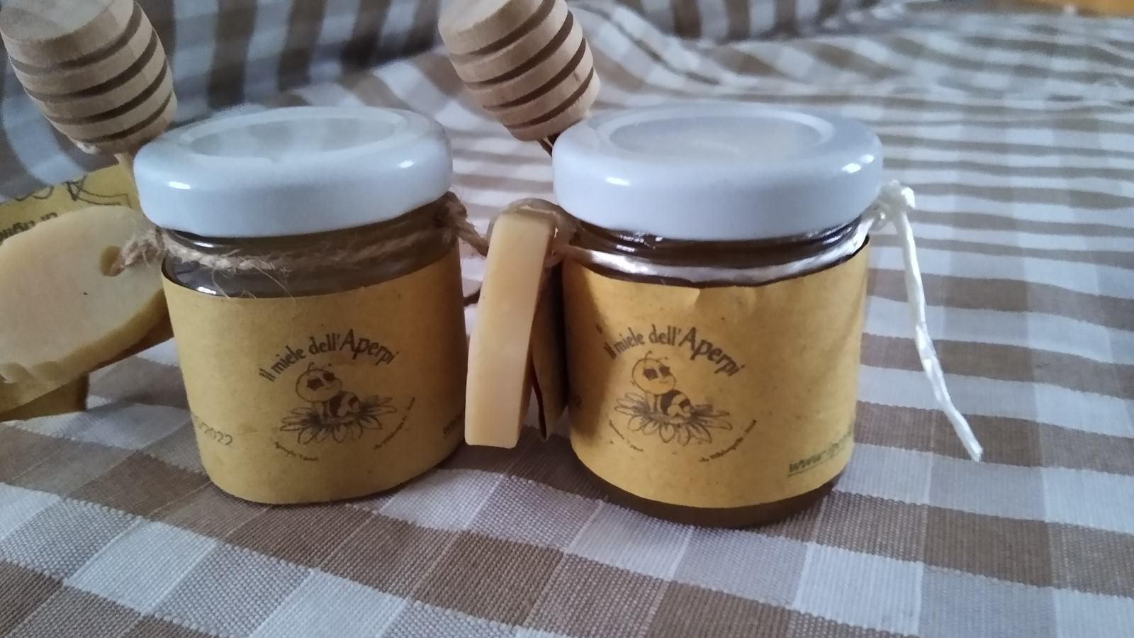 bomboniera con miele